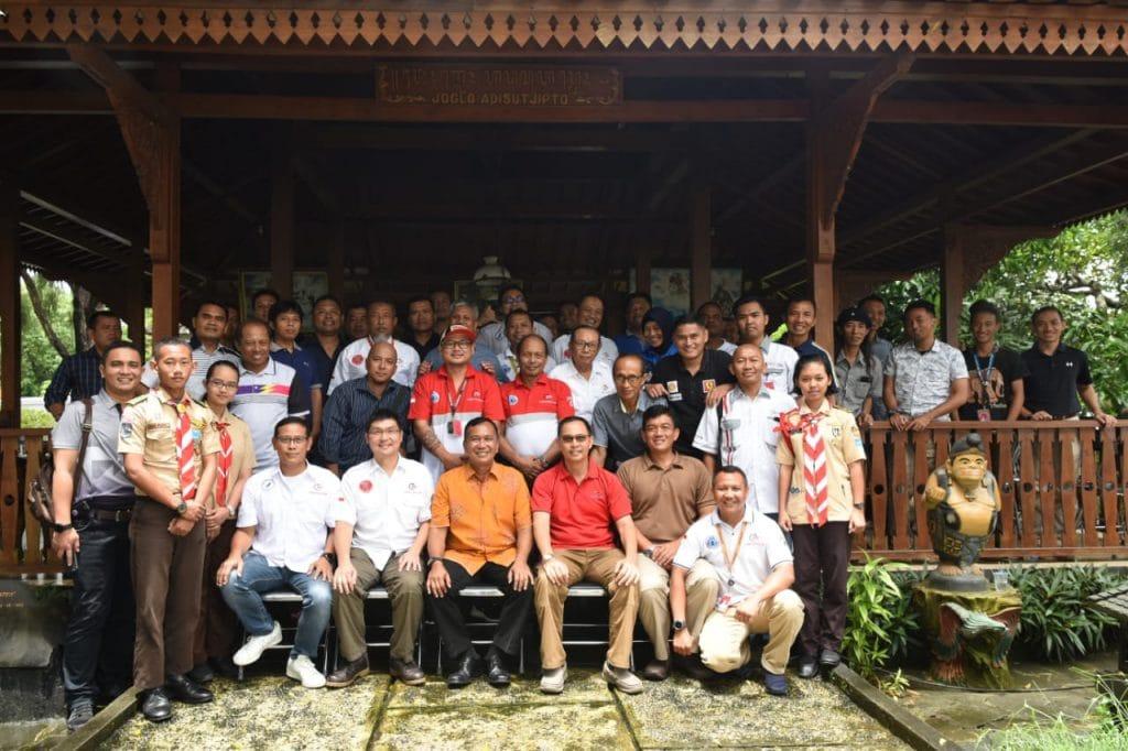 Silaturahmi Danlanud Adisutjipto Dengan FASI DIY dan JFC