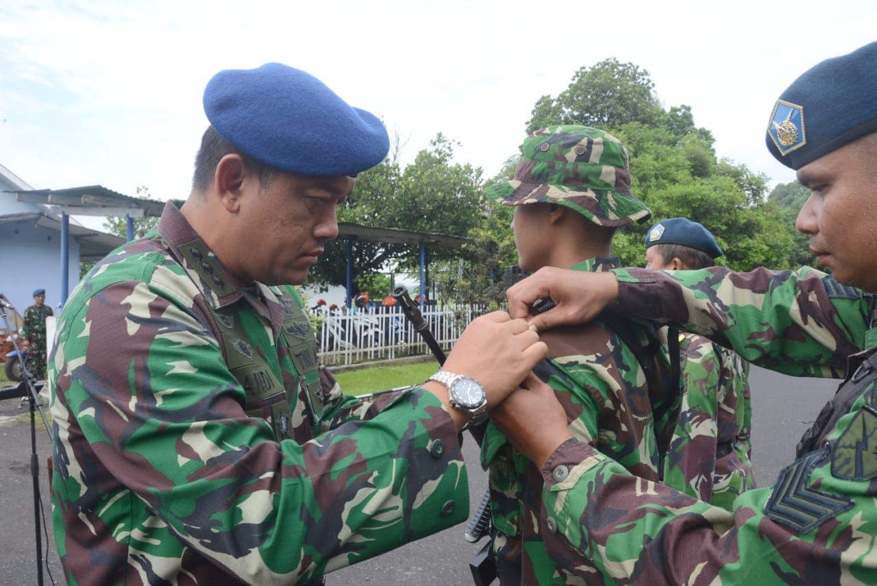 Latihan Pertahanan Pangkalan di Lanud Adisutjipto