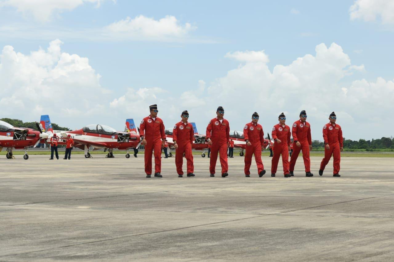 Jupiter Aerobatik Team menuju ajang LIMA Langkawi