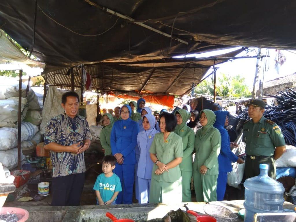 Gerakan Nasional Memilah Sampah Menjadi Emas, bersama Dharma Pertiwi Daerah B Koorcab Lampung