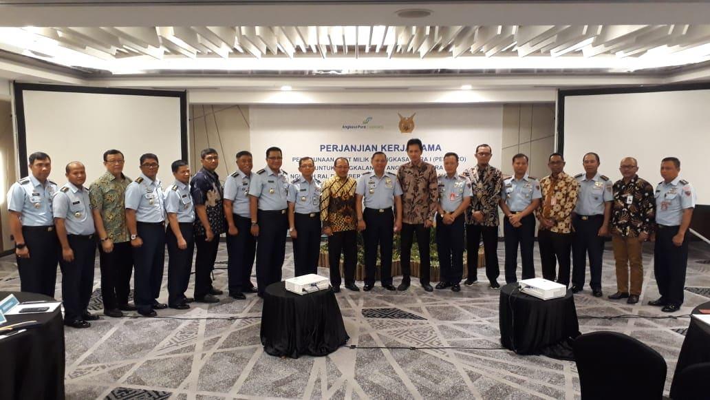 Perjanjian Kerja Sama Angkasa Pura I dan Lanud Sam Ratulangi
