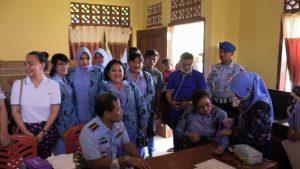 Bakti Sosial Dalam Rangka HUT TNI AU Ke 73 di Lanud Sam Ratulangi
