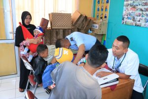 Baksos Pasis Sesarcab Kes Skadik 504 Wingdikum di Kelurahan Katulampa Bogor Timur