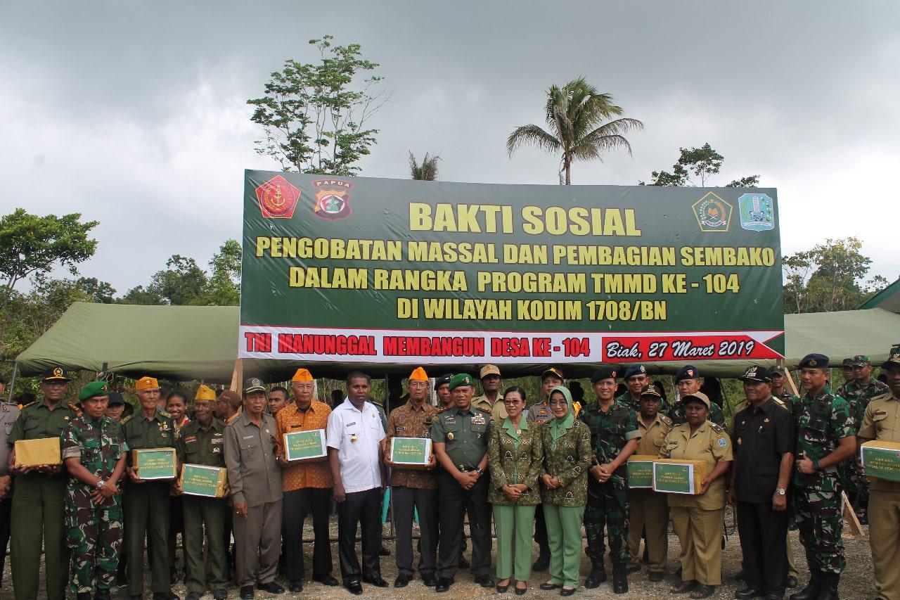 Penutupan TNI Manunggal Masuk Desa Tahun 2019