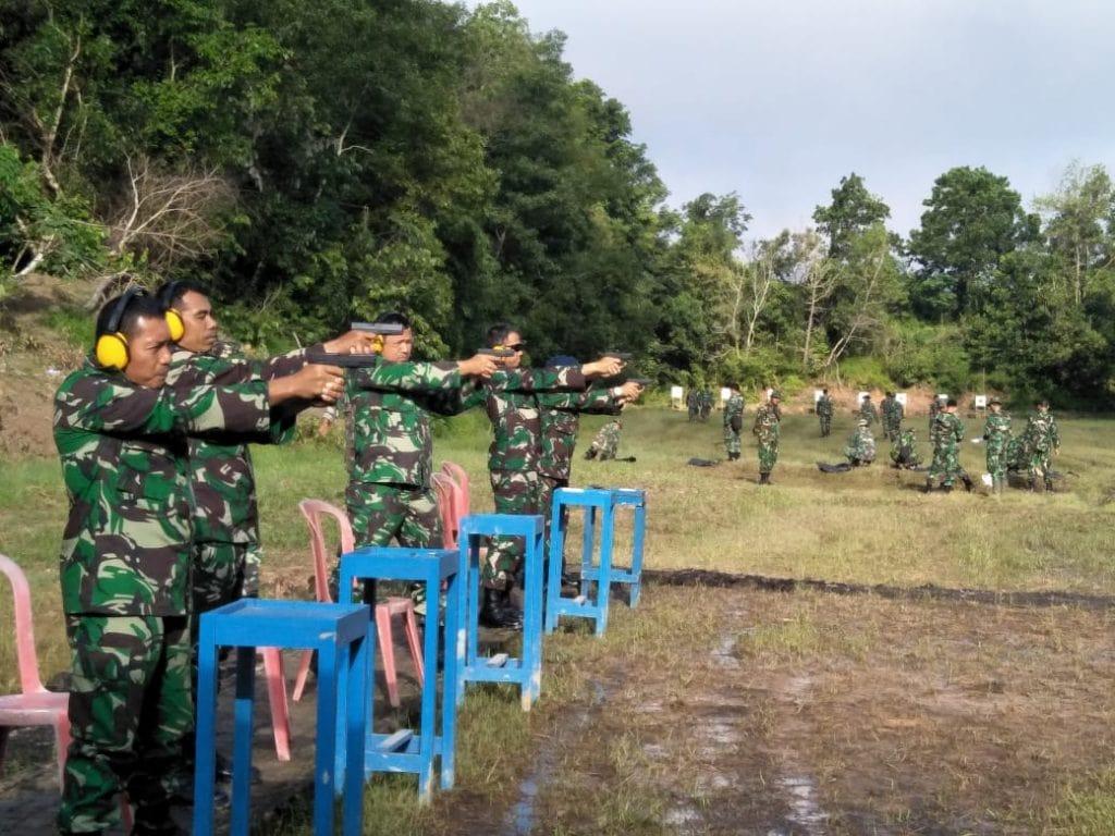 Prajurit Smh Tingkatkan Skill Menembak, Siap Laksanakan Tugas