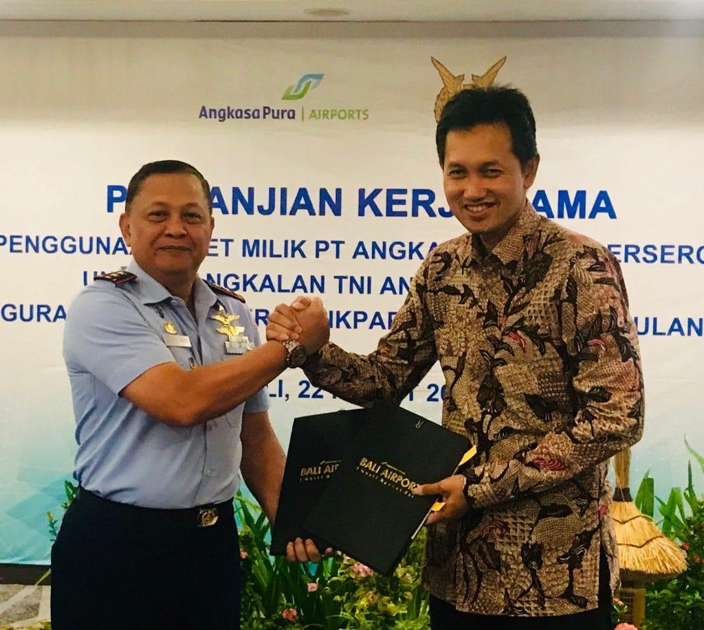 Angkasa Pura I dan TNI AU Kerjasama Penggunaa Lahan di Bali, Balikpapan dan Manado