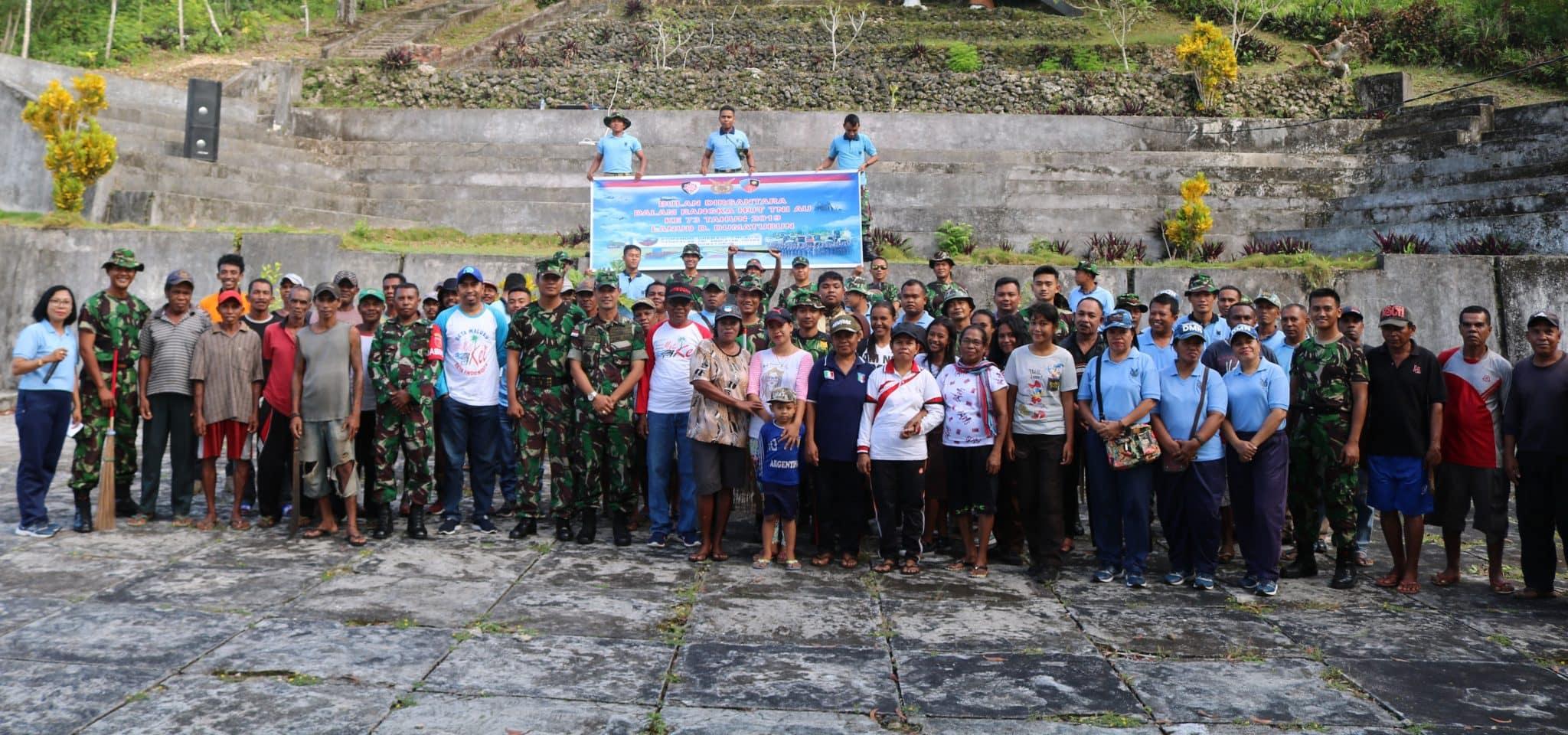 Bulan Dirgantara dalam Rangka HUT TNI AU ke 73 TA 219 Lanud D. Dumatubun
