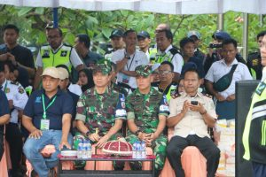 Personel Lanud Sultan Hasanuddin Ikut Penaggulangan Keadaan Darurat Ke-102