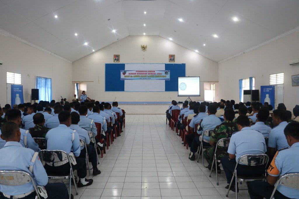 Ceramah Penanggulangan DBD di Lanud Soewondo
