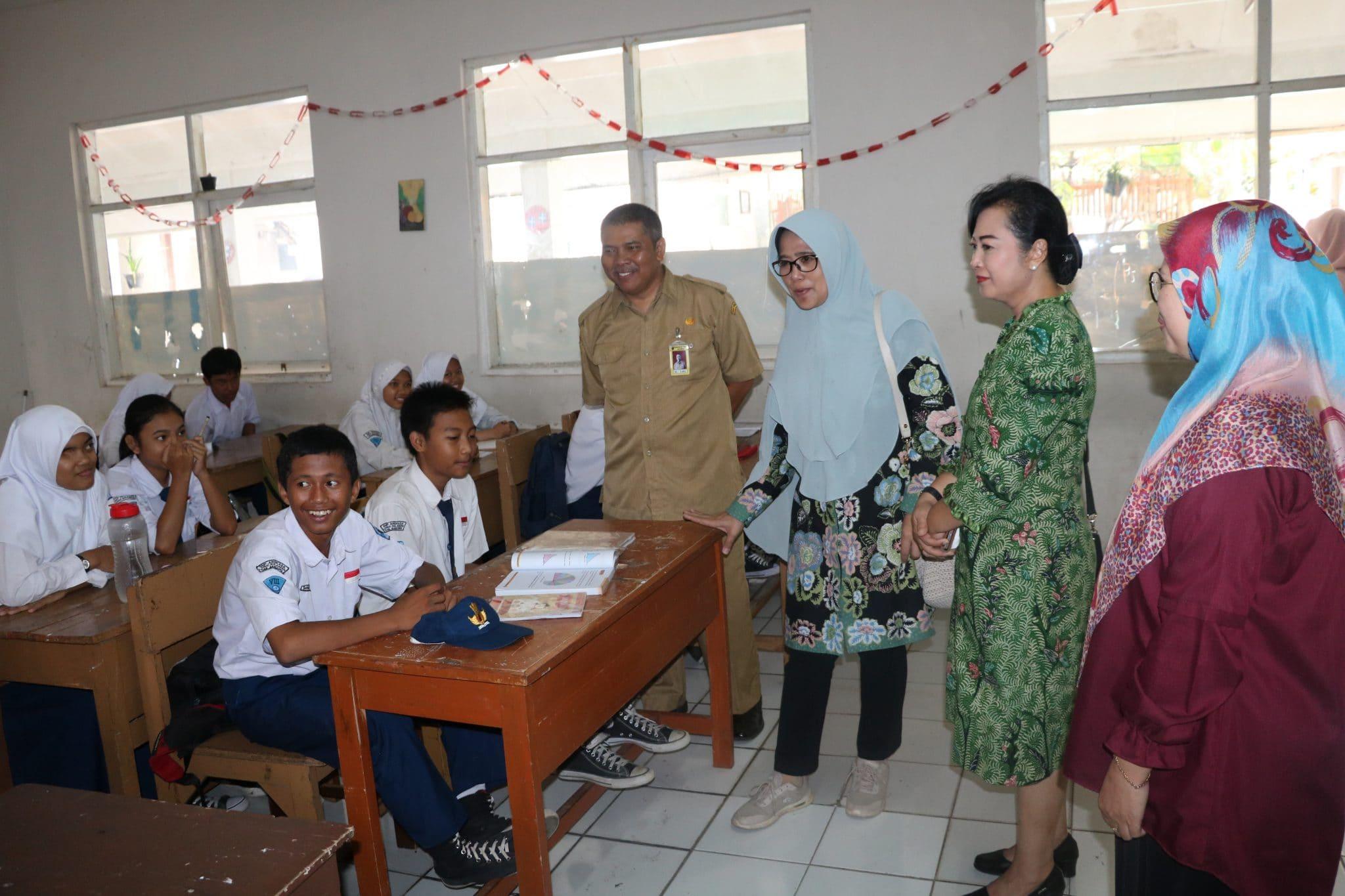 Kunjungan Kerja Ketua PIA Ardhya Garini Gab. II Kodiklatau ke Lanud Sulaiman