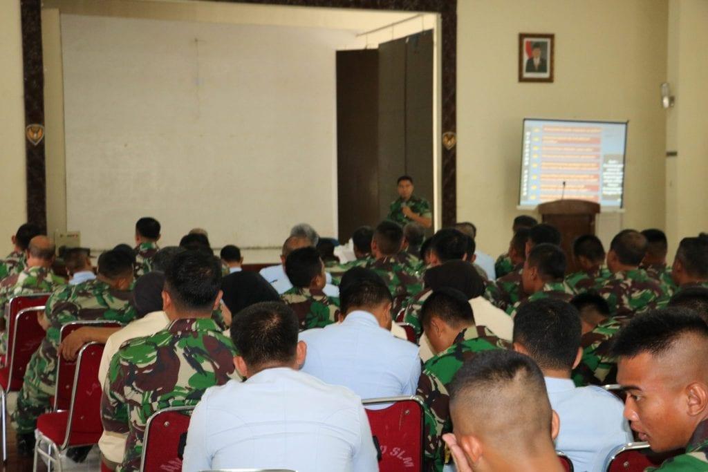 Sosialisasi Hukum dan Kepolisian Militer di Lanud Sulaiman