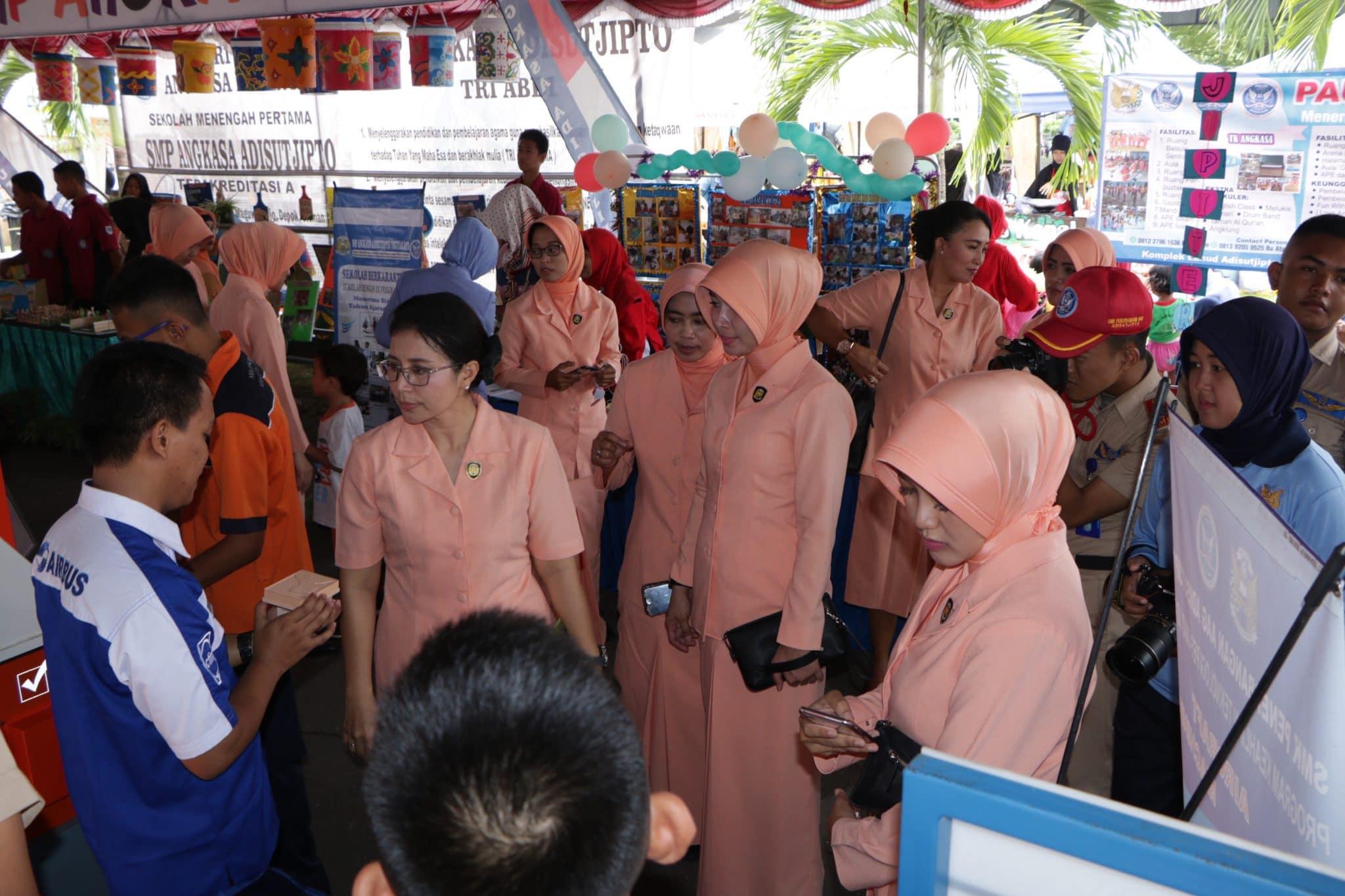 Ajang Promosi Sekolah Angkasa, Angkasa Expo 2019 Digelar di Lanud Adisutjipto