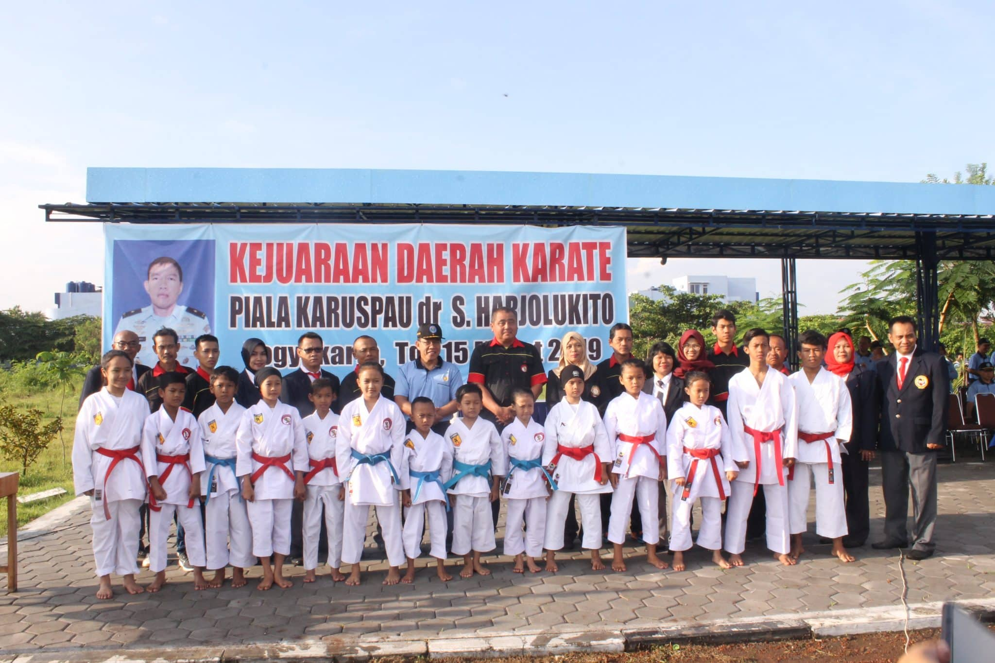Pembukaan Kejuaraan Karate KA RSPAU Cup 2019