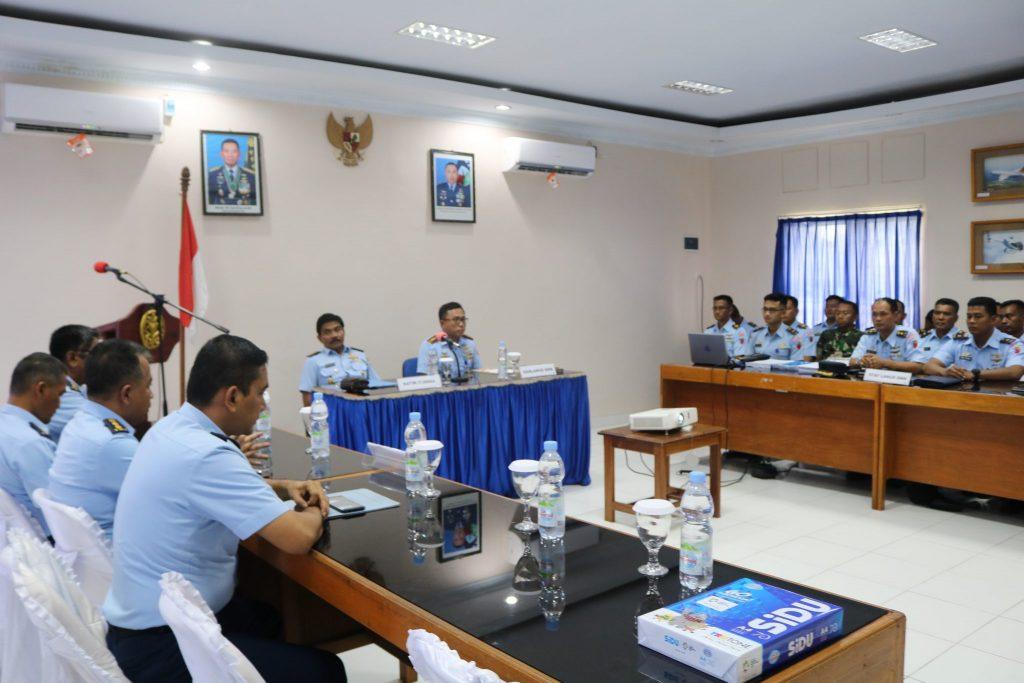 Entry Briefing Tim Wasrik Itjenau TA. 2019 di Lanud Dominicus Dumatubun