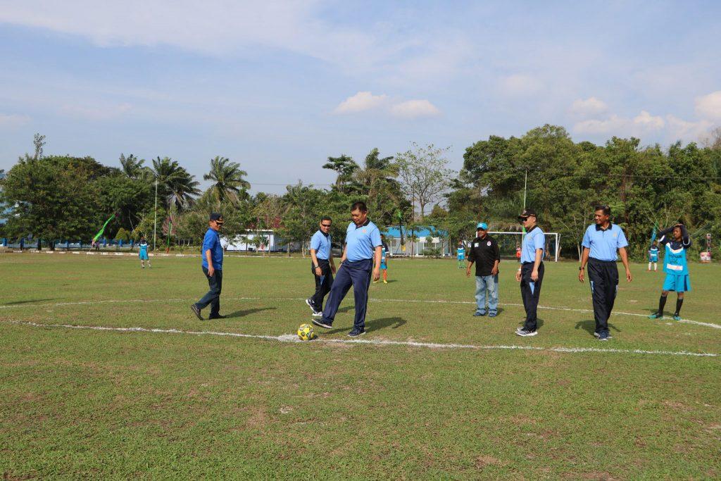 Tendangan Pertama Danlanud Rsn, Tandai Liga Berjenjang U-16 Dimulai