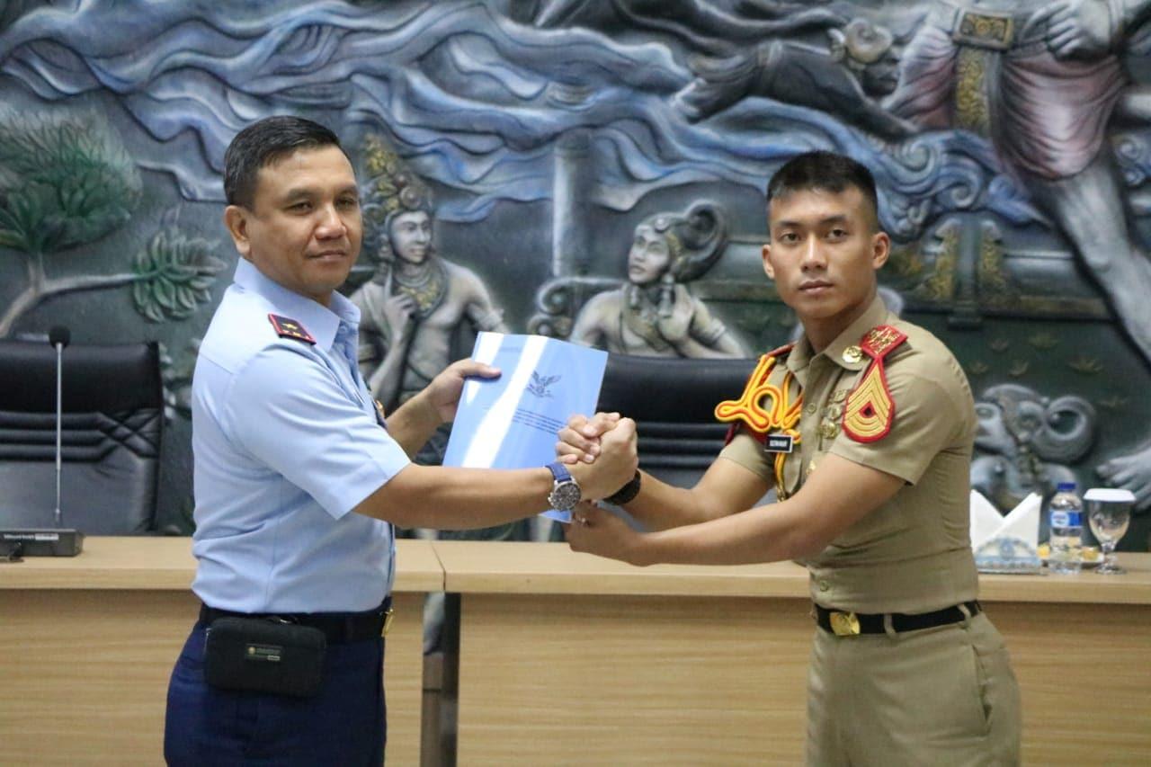 Pratikum Manajemen Perawatan Pesawat Terbang Taruna Tingkat IV AAU Resmi Ditutup