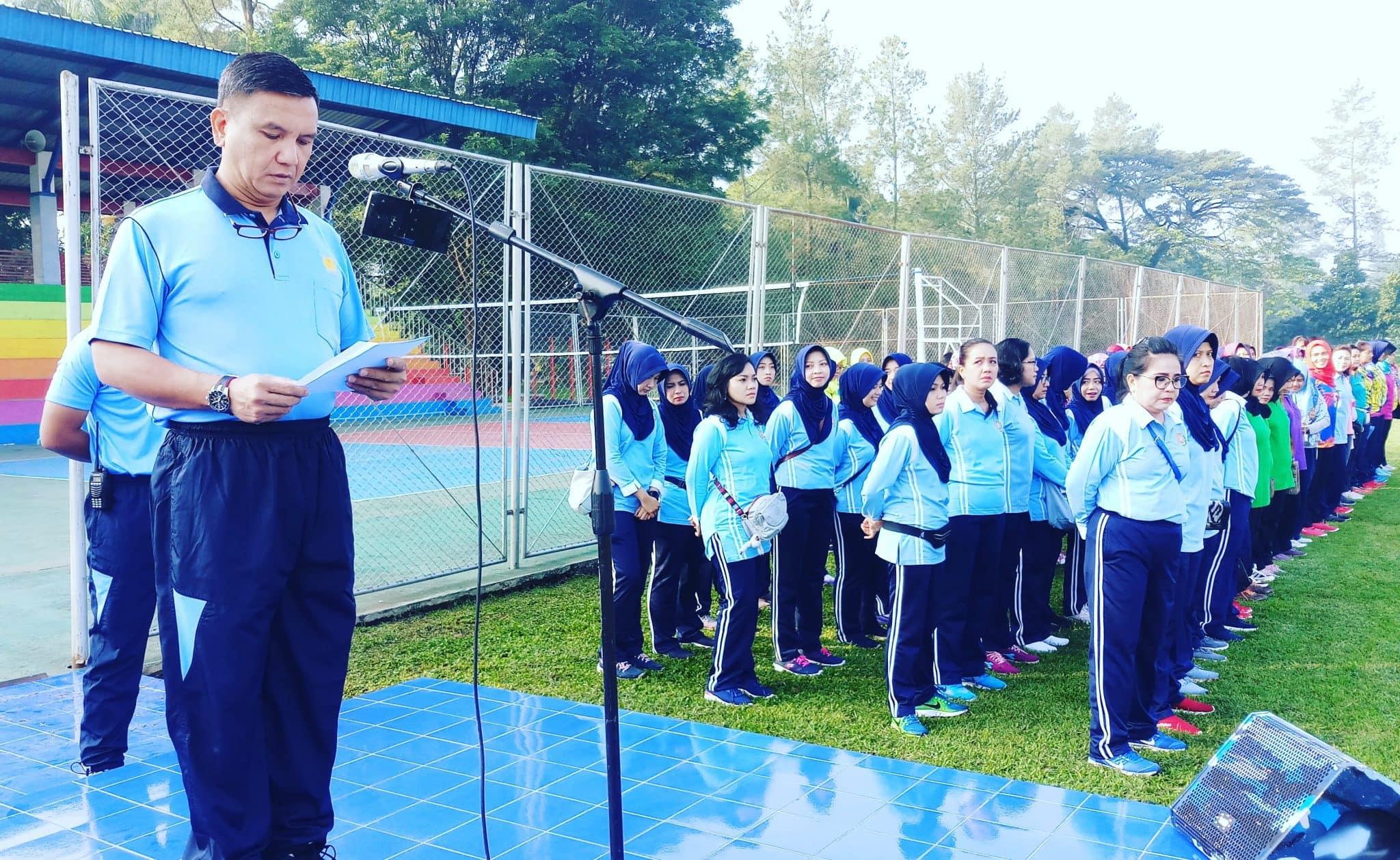 Sambut HUT TNI AU Ke-73, Lanud Abd Saleh Gelar Pekan Olahraga