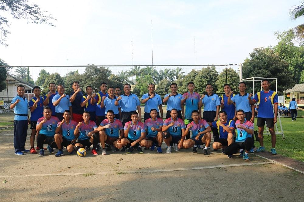 Tim Voli Kosekhanudnas I Adakan Tanding Persahabatan dengan Pomau