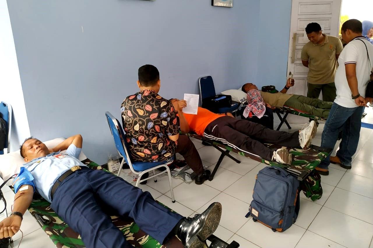 Donor Darah dalam Rangka Peringati HUT ke-73 TNI Angkatan Udara