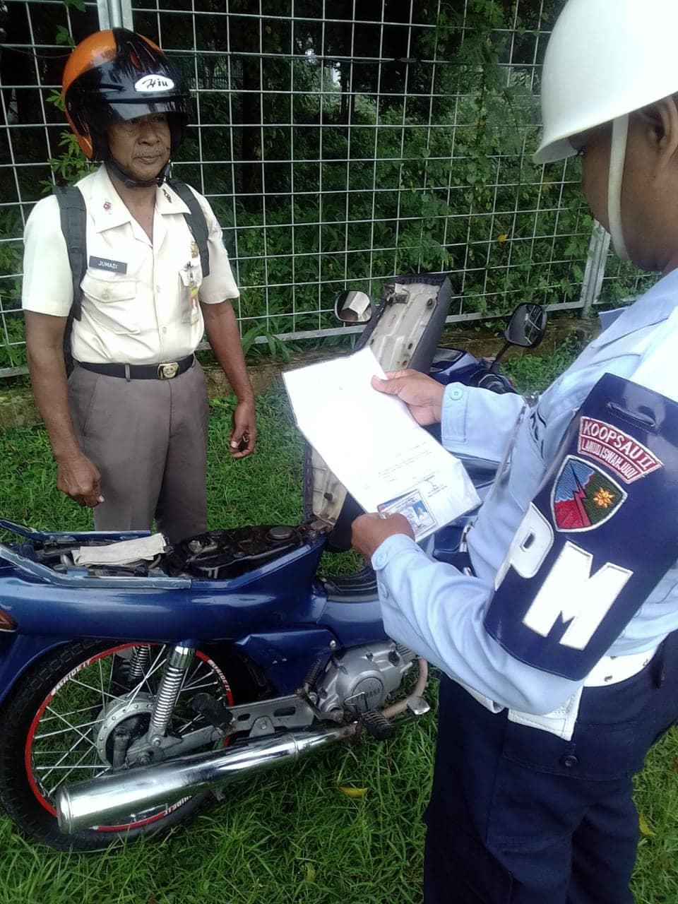 Satpom Lanud Iwj Laksanakan Operasi Penegakan Ketertiban (Opsgaktib)