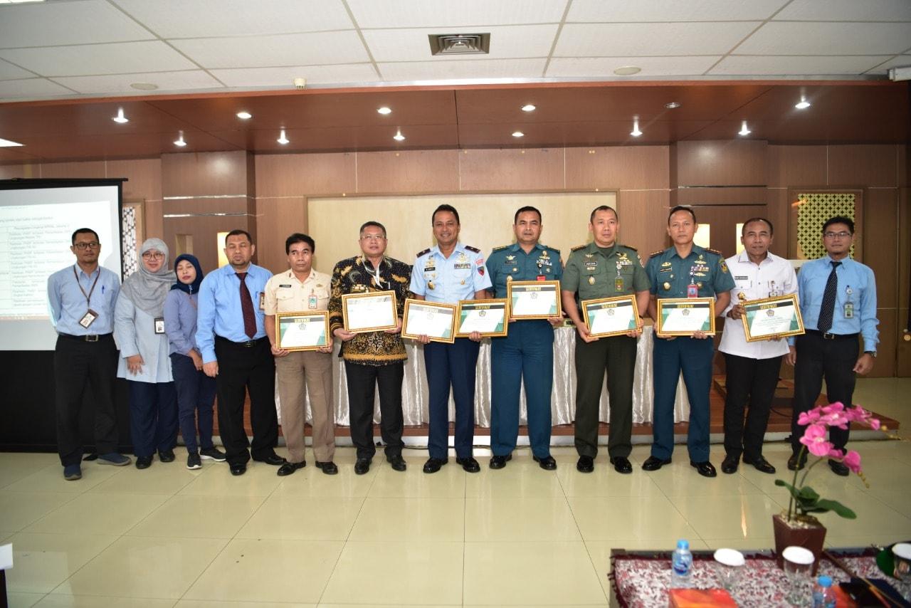 Lanud Halim Perdanakusuma Raih Dua Penghargaan dari KPKNL Jakarta V