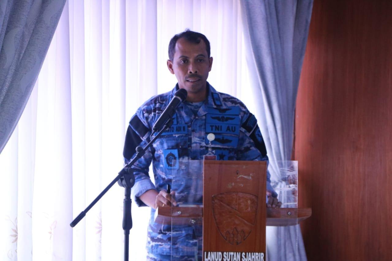 Prajurit Lanud Sutan Sjahrir Melaksanakan Jam Komandan.