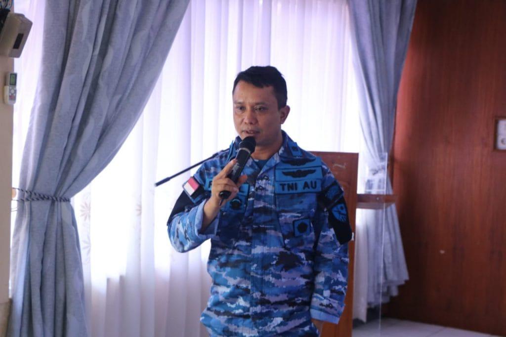 Kadispers Lanud Sutan Sjahrir Sosialisasikan Tentang SOP AP (Standar Operasional Prosedur Administrasi Pemerintahan)
