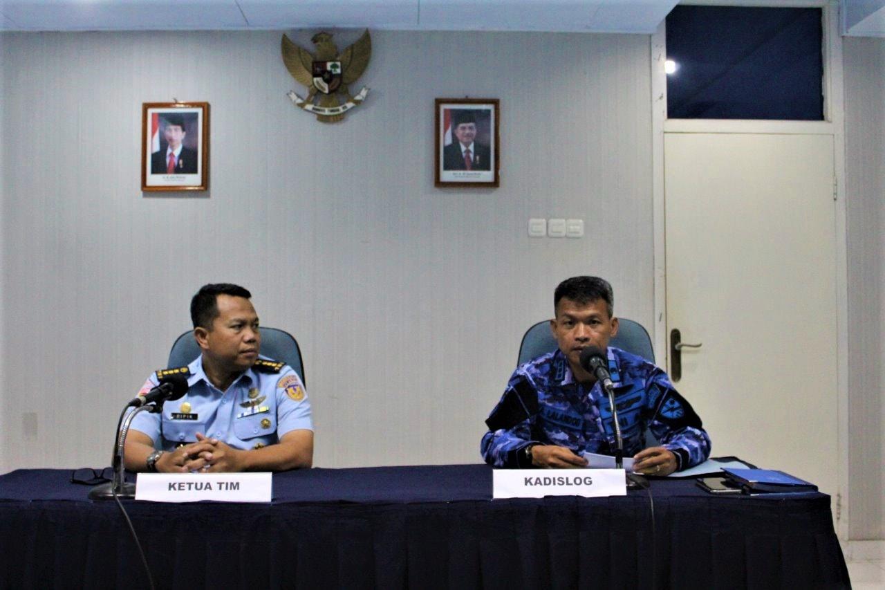 Entry Briefing Itjenau di Lanud Manuhua