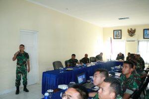 Entry Briefing Wasrikkap Itkoopsau I di Lanud Sutan Sjahrir