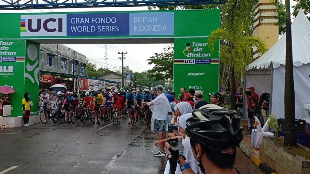 Danlanud RHF Turut Melepas Peserta Tour De Bintan 2019