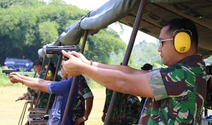 Personel Lanud J. B. Soedirman Laksanakan Latihan