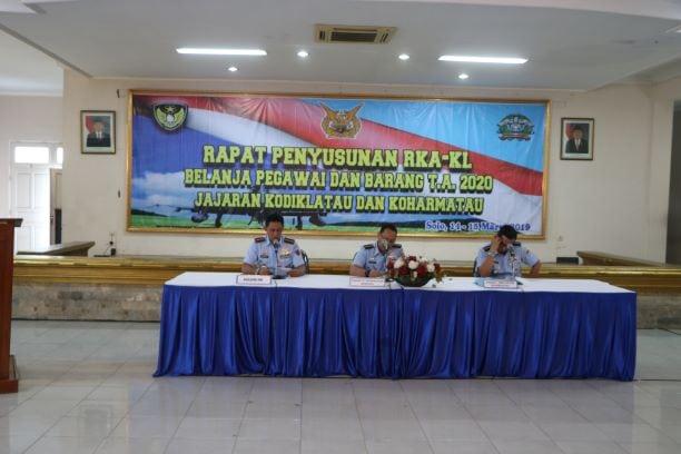 Penyusunan RKA-KL Belanja Pegawai dan Barang T.A. 2020 di Lanud Adi Soemarmo