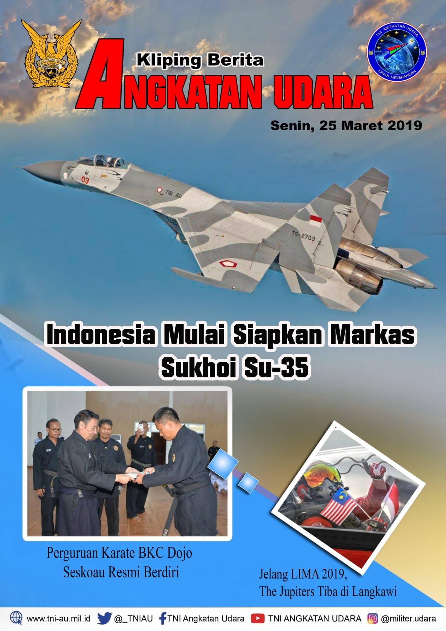 Kliping Berita Media 25 Maret 2019