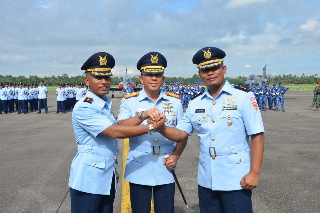 Letkol Pnb I Gusti Ngurah Adi Brata Resmi Jabat Komandan Skadron Udara 1