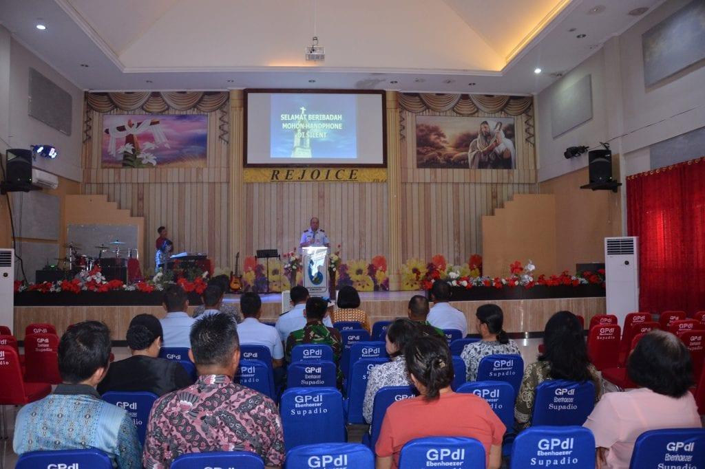 Lanud Supadio Gelar Doa Bersama Jelang HUT ke-73 TNI AU