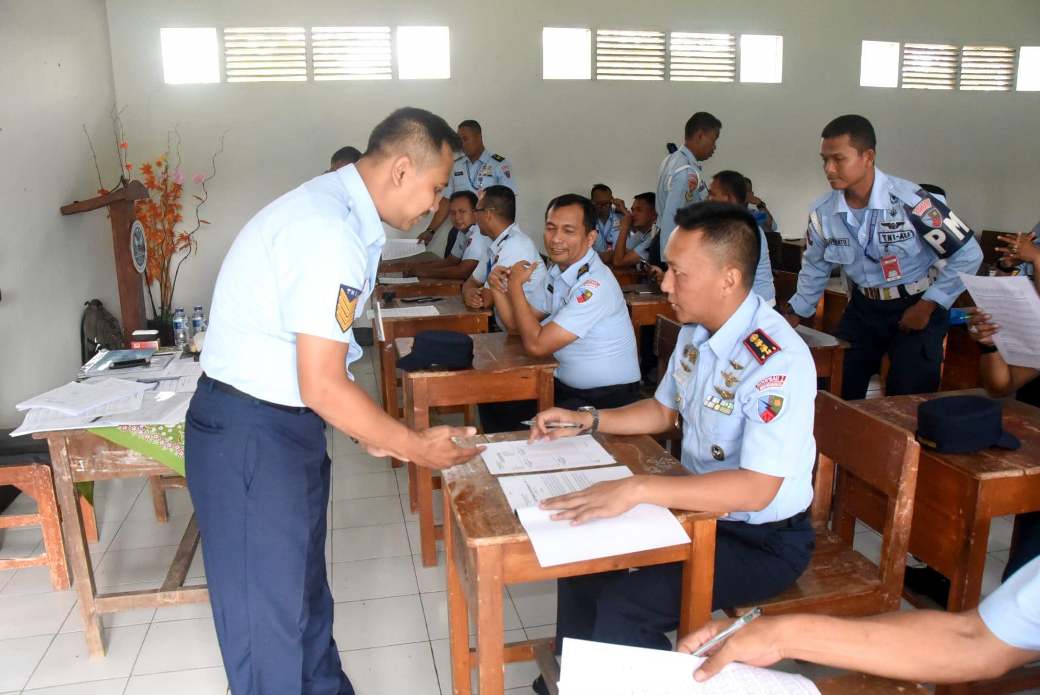 Lanud Wiriadinata Laksanakan Tes Psikologi bagi Pemegang Senjata Api