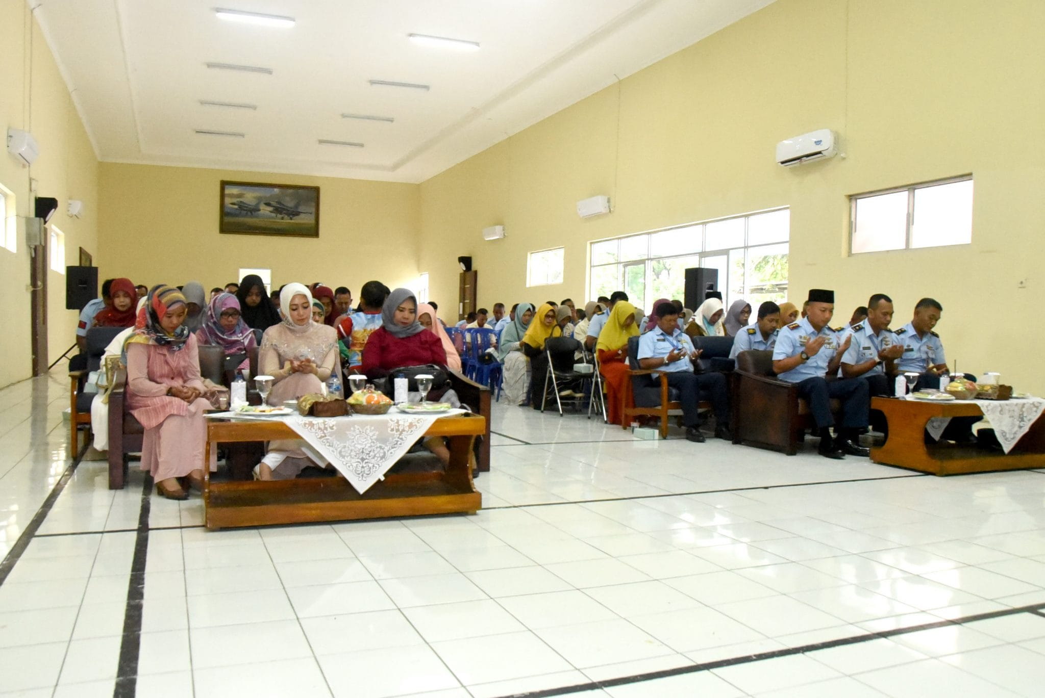 Lanud Wiriadinata Peringati Isra Miraj Nabi Muhammad Saw 1440 H