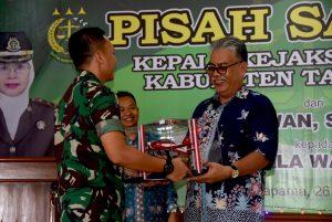 Komandan Lanud Wiriadinata Hadiri Pisah Sambut Kajari Kabupaten Tasikmalaya