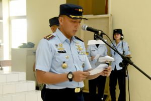 Sertijab Kepala Dinas Operasi di Lanud Wiriadinata
