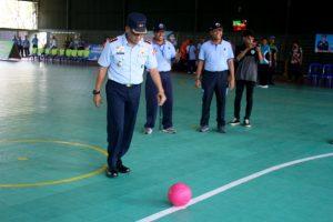Komandan Lanud Wiriadinata Membuka Tournament Futsal U-21 Danlanud Cup Tahun 2019