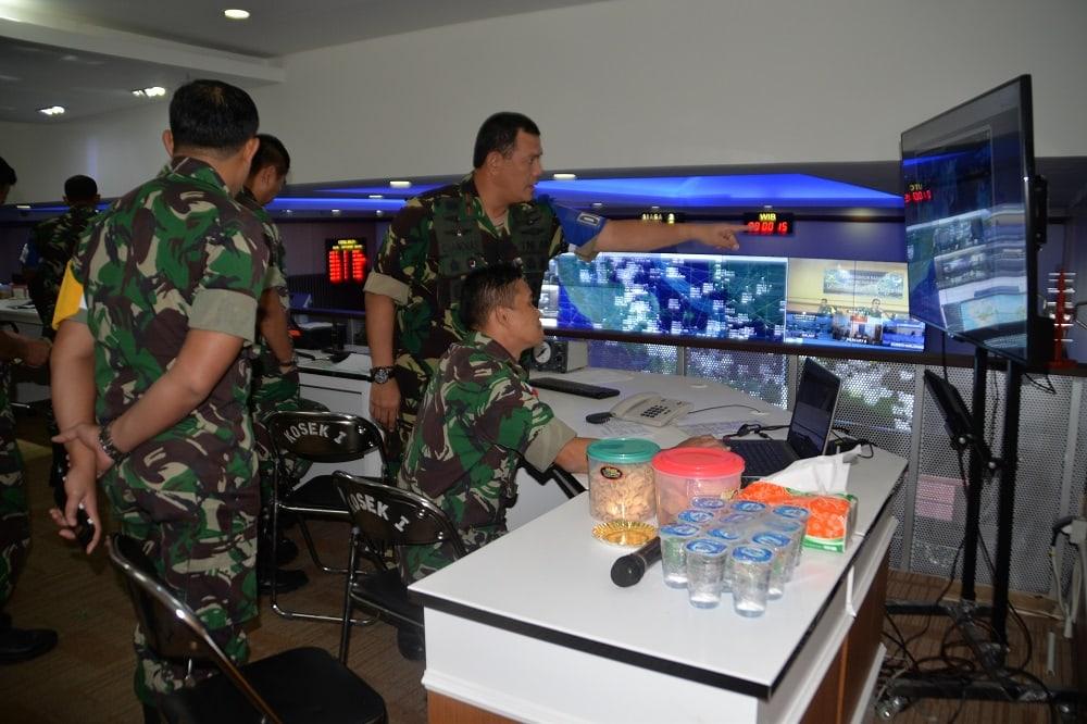 Uji Pertahanan Udara, Kosekhanudnas I Laksanakan Latihan Hanud Cakra A/19