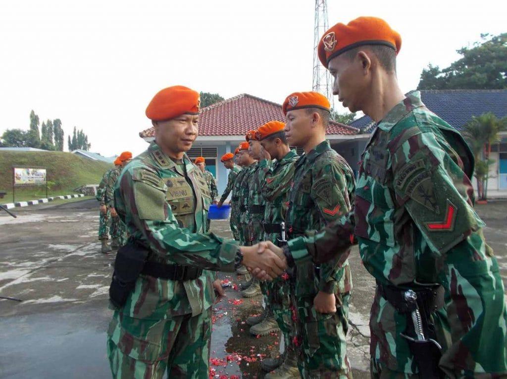 Korps Raport Kenaikan Pangkat Mako Wing I Paskhas