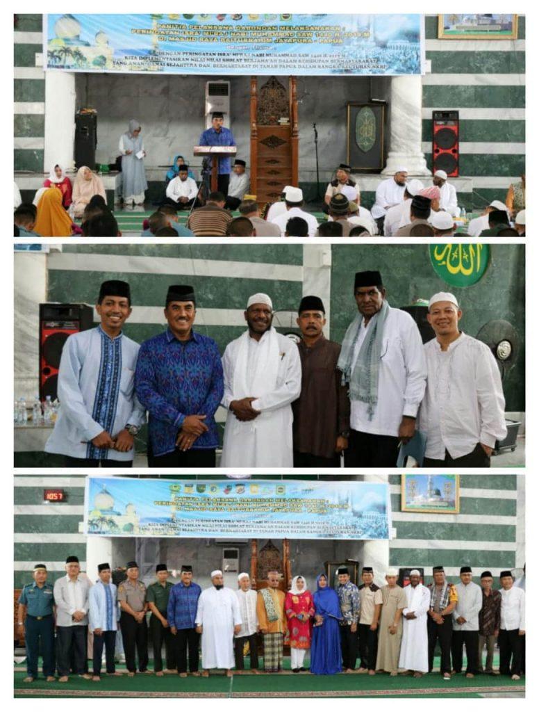 TNI, Polri dan Pimpinan Forkopimda Peringati Isra Mi'raj Nabi Muhammad SAW 1440 H