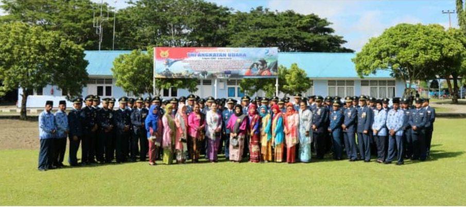 Peringatan HUT ke-73 TNI AU Tahun 2019 di Lanud Silas Papare Jayapura