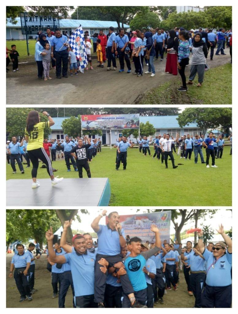 Wujud Syukur Kepada Allah SWT, Lanud Silas Papare Gelar Syukuran HUT TNI AU Ke 73