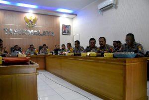 Komandan Lanud Wiriadinata Hadiri Video Conference Menko Polhukam