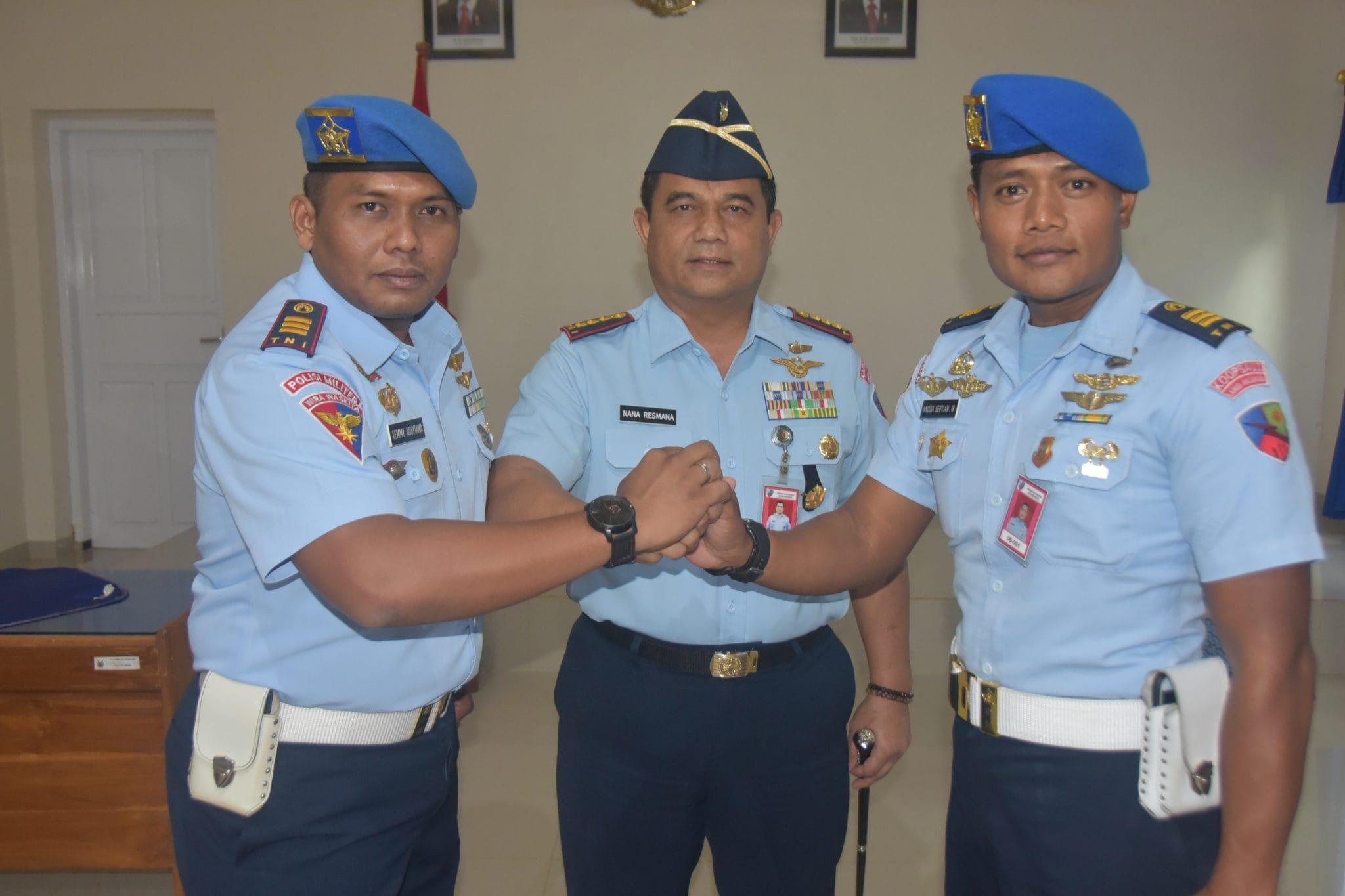 Kapten Pom Temmi Adhytama, S.H Jabat Dansatpom Lanud Haluoleo