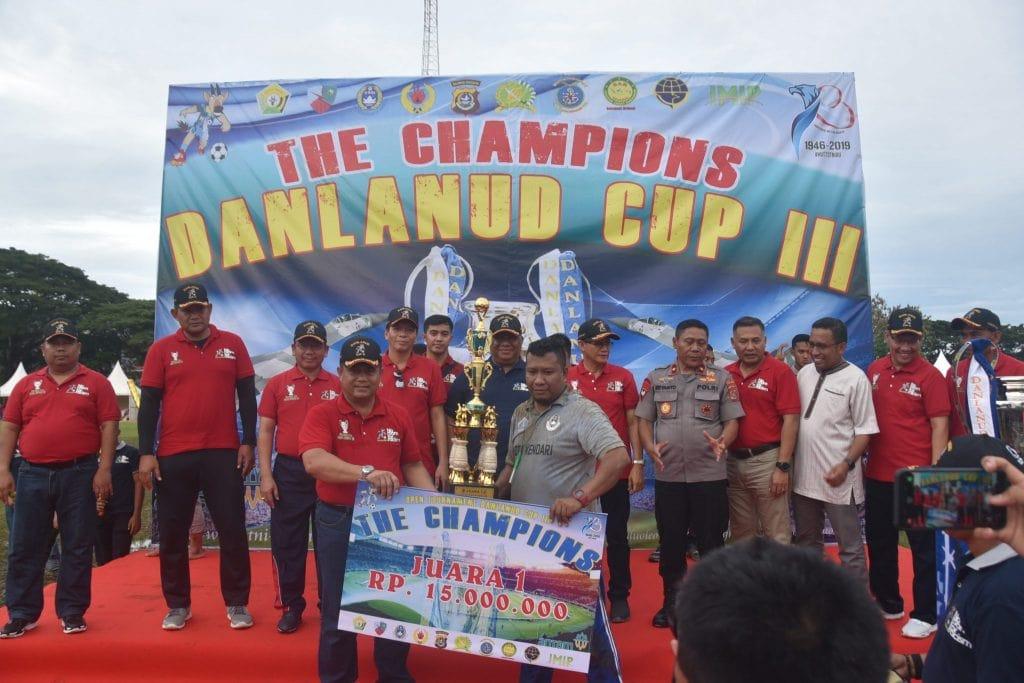 Piala Bergilir Danlanud CUP III Berpindah ke UHO FC
