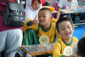 Yasarini Lanud Rhf Gelar Lomba Mewarnai Angkasa Expo 2019