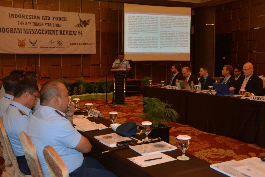 TNI AU Bahas Program Falcon Star –eMLU dengan Tim Pemerintah USA
